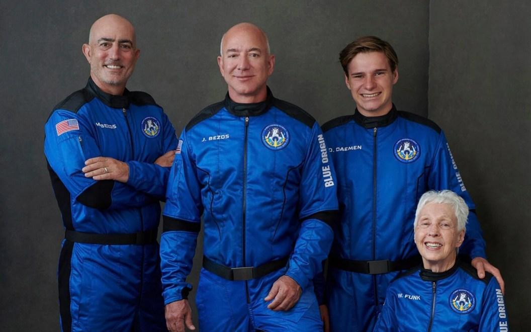 Jeff Bezos space flight: Amazon founder and Blue Origin crew to launch New Shepard - watch live