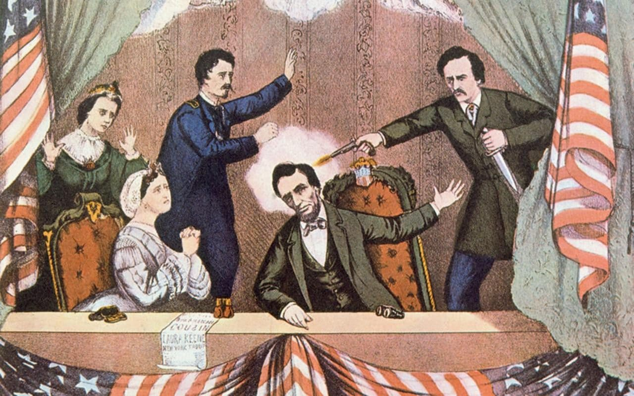 On This Day In John Wilkes Booth Shoots Abraham