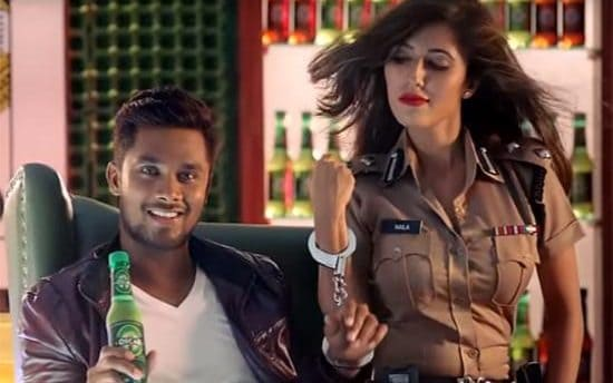 Bangladesh ban Sabbir Rahmans raunchy TV drinks advert