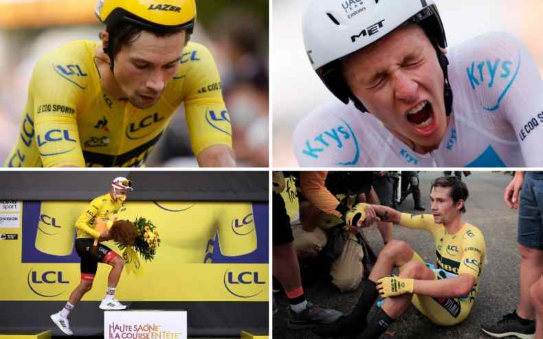 Tadej Pogacar blows Tour de France apart to wrestle yellow jersey off  Primoz Roglic and all but seal title