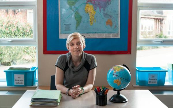 Swap your career to become a geography teacher