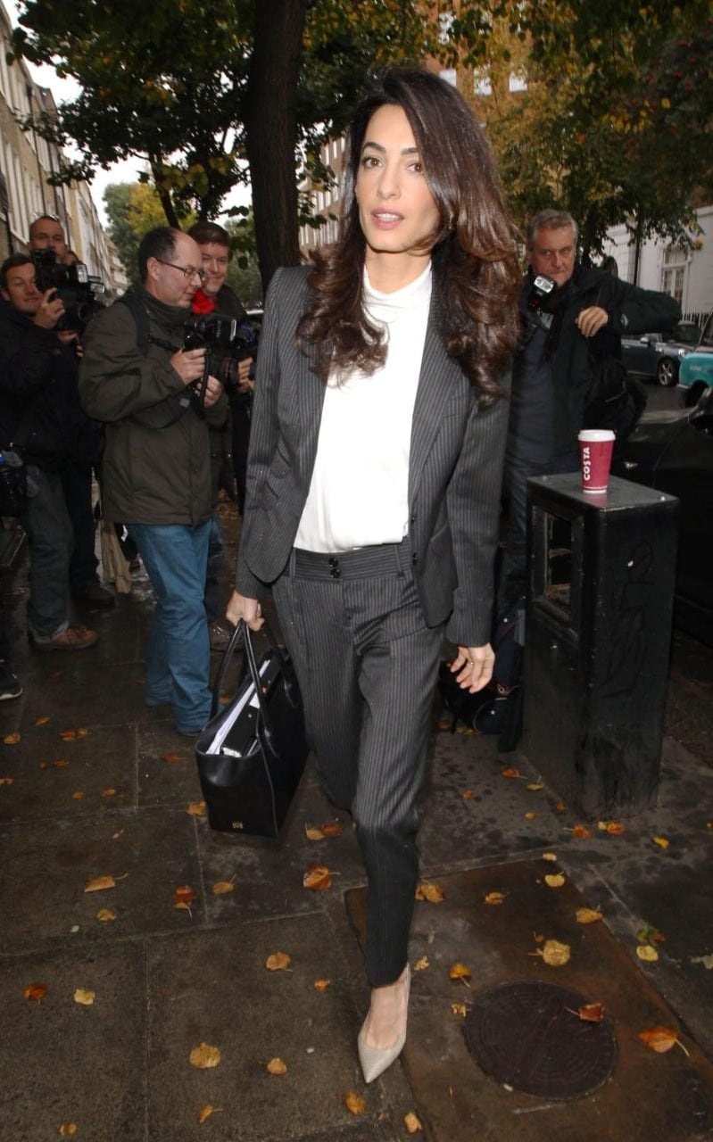 7 ways Amal Clooney has perfected a modern work wardrobe