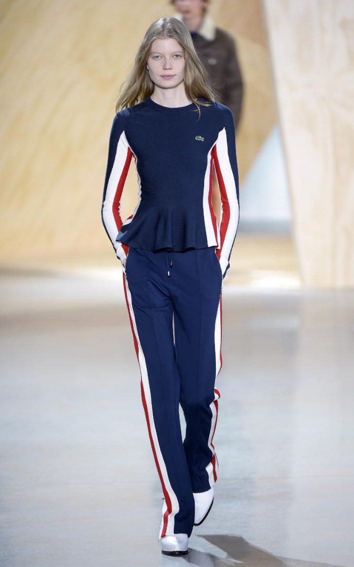 The 60s Skiwear Look Is Back In Fashion Thanks To Lacoste S New York Fashion Week Show