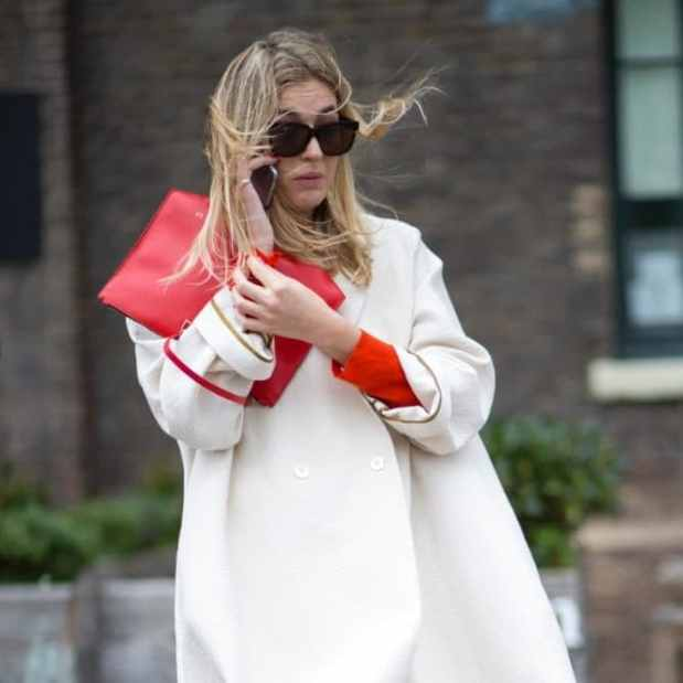 Try colour co-ordinating clutches with another key element of your look