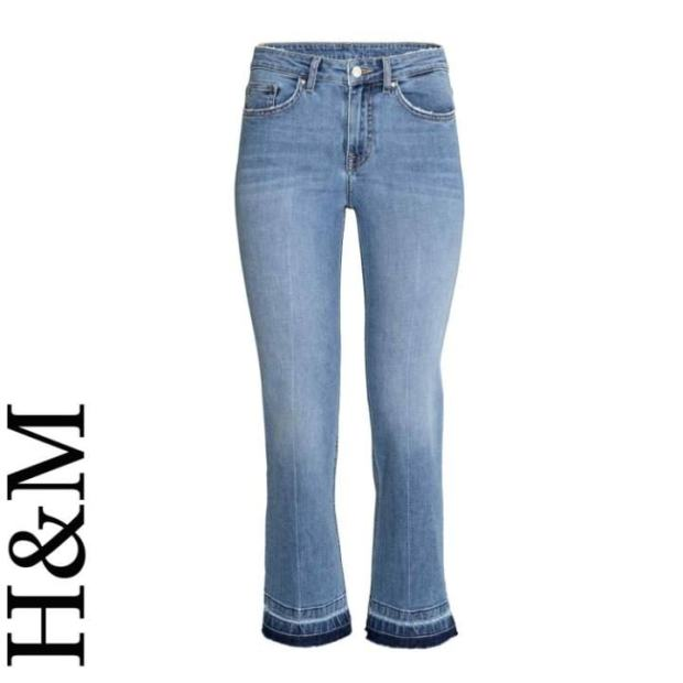 Kick flare jeans, £19.99, H&M