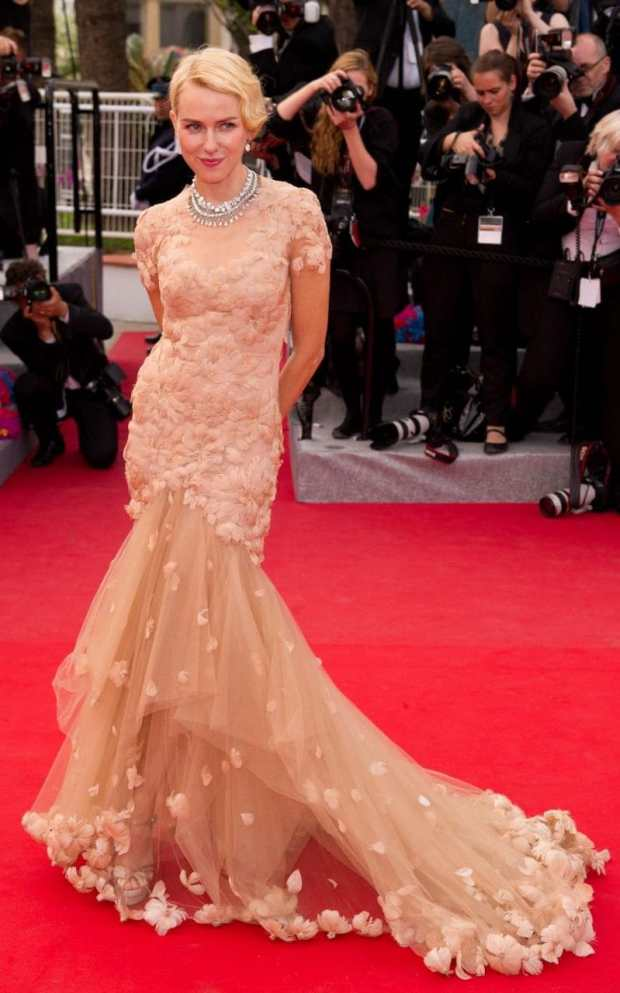 Naomi Watts Marchesa Cannes 2012
