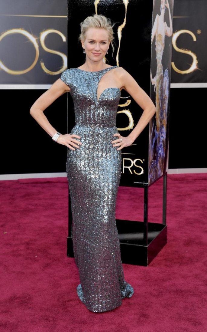 Naomi Watts Armani Oscars 2013