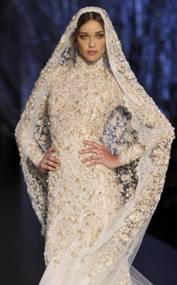 Ralph & Russo AW15 Couture wedding gown