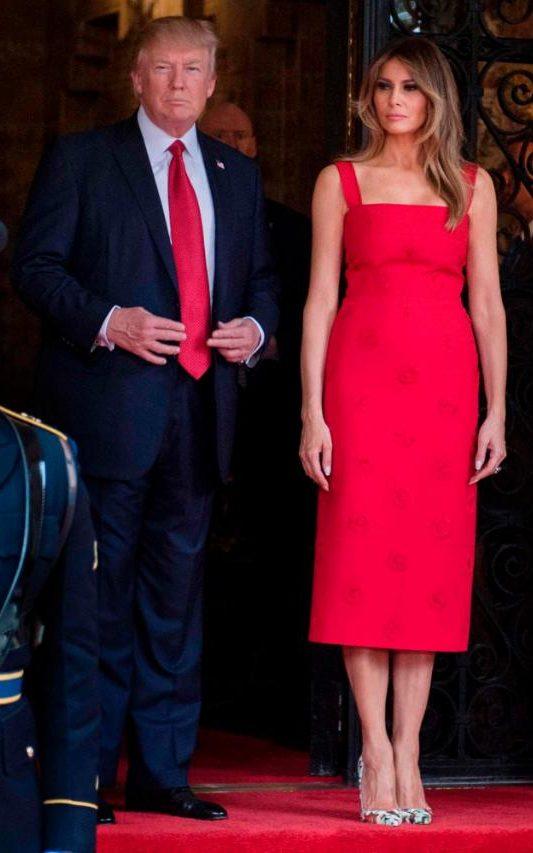 Melania Trump Pays Sartorial Tribute To China As She