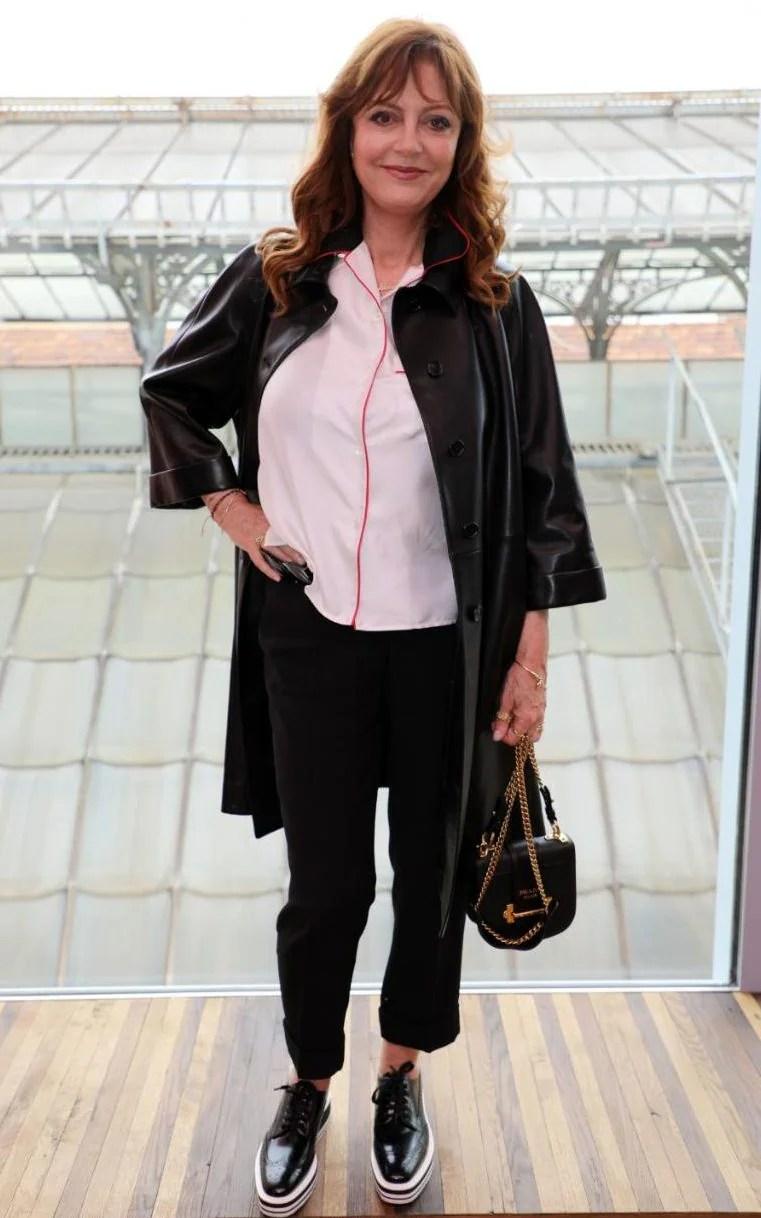 Susan Sarandon Bianca Jagger Amp Courtney Love Sit Front