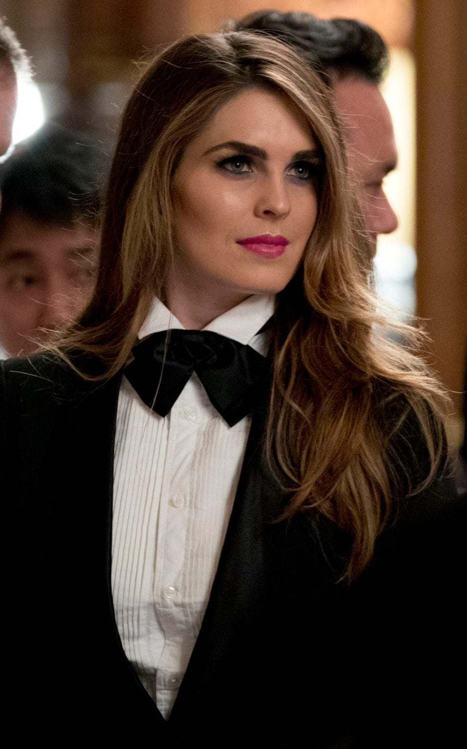 Hope Hicks Is The Tuxedo To Melania Trump S Valentino Gown