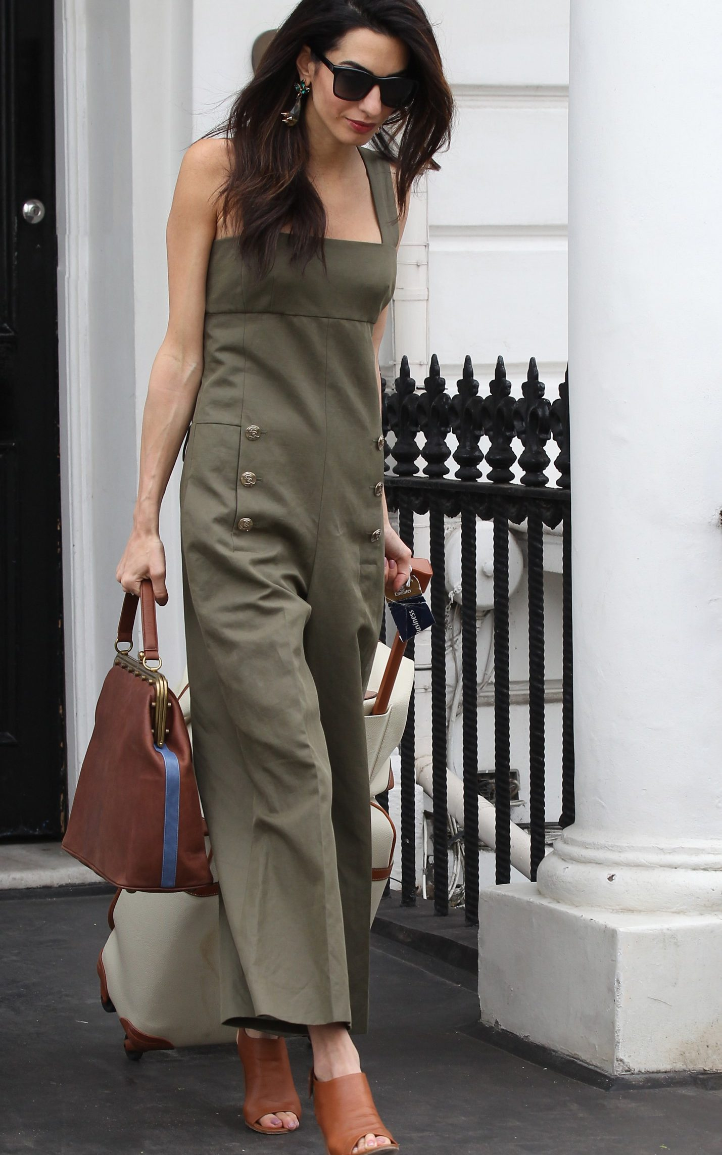 Amal Clooney wears Sonia Rykiel
