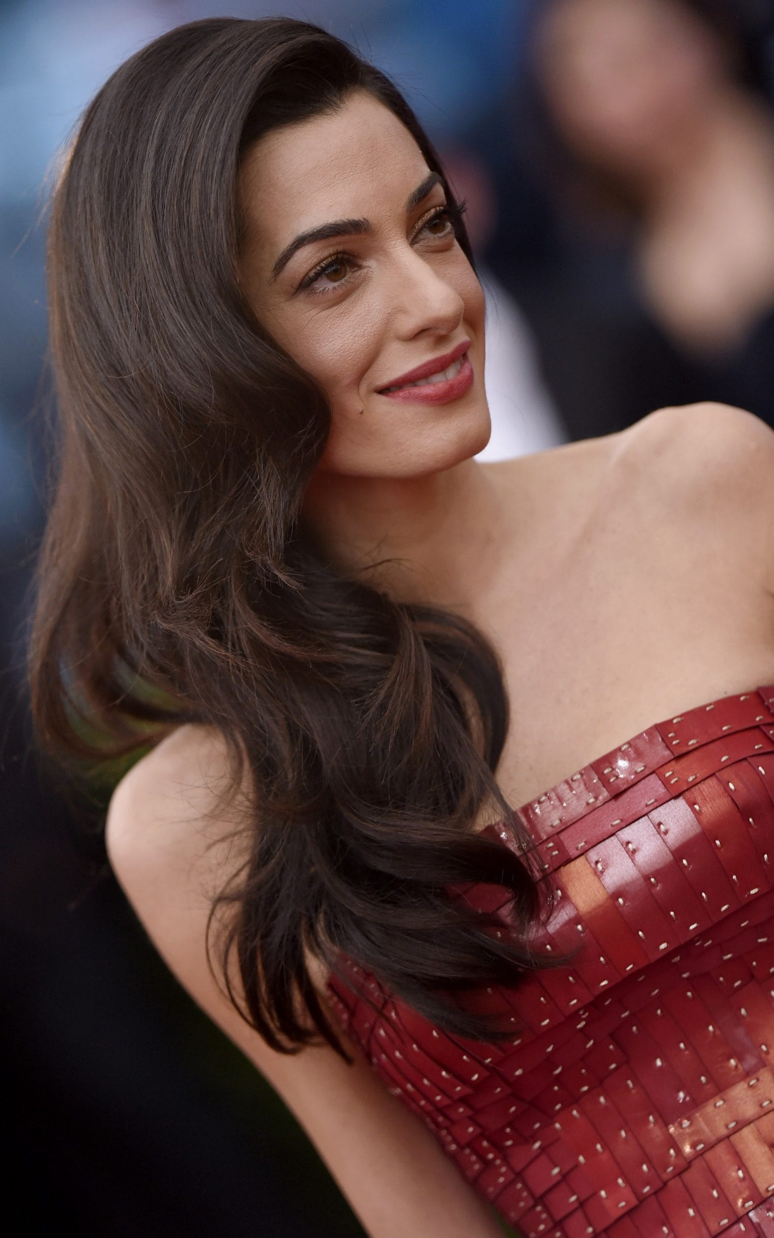 Amal Clooney wears Maison Margiela Couture