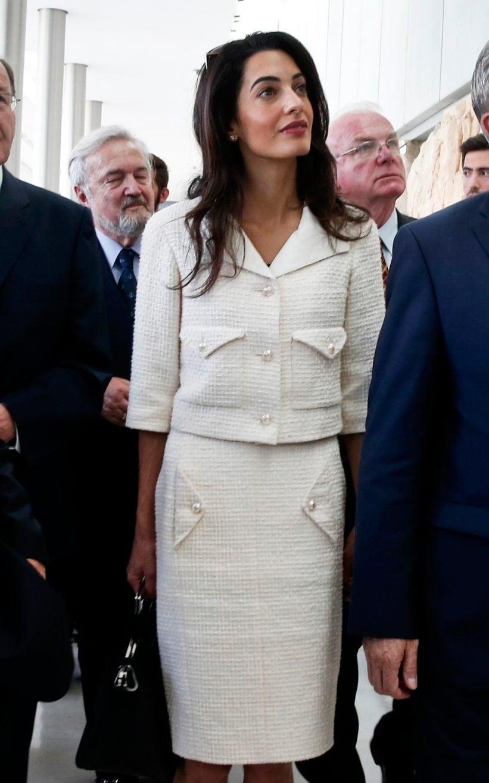 Amal Clooney wears Chanel