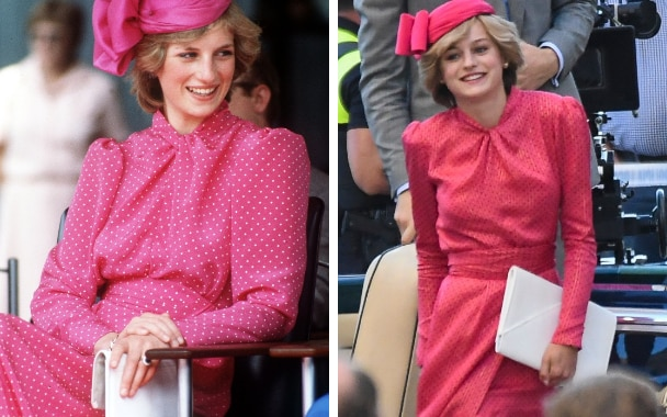 How The Crown is recreating Princess Diana's iconic early ...