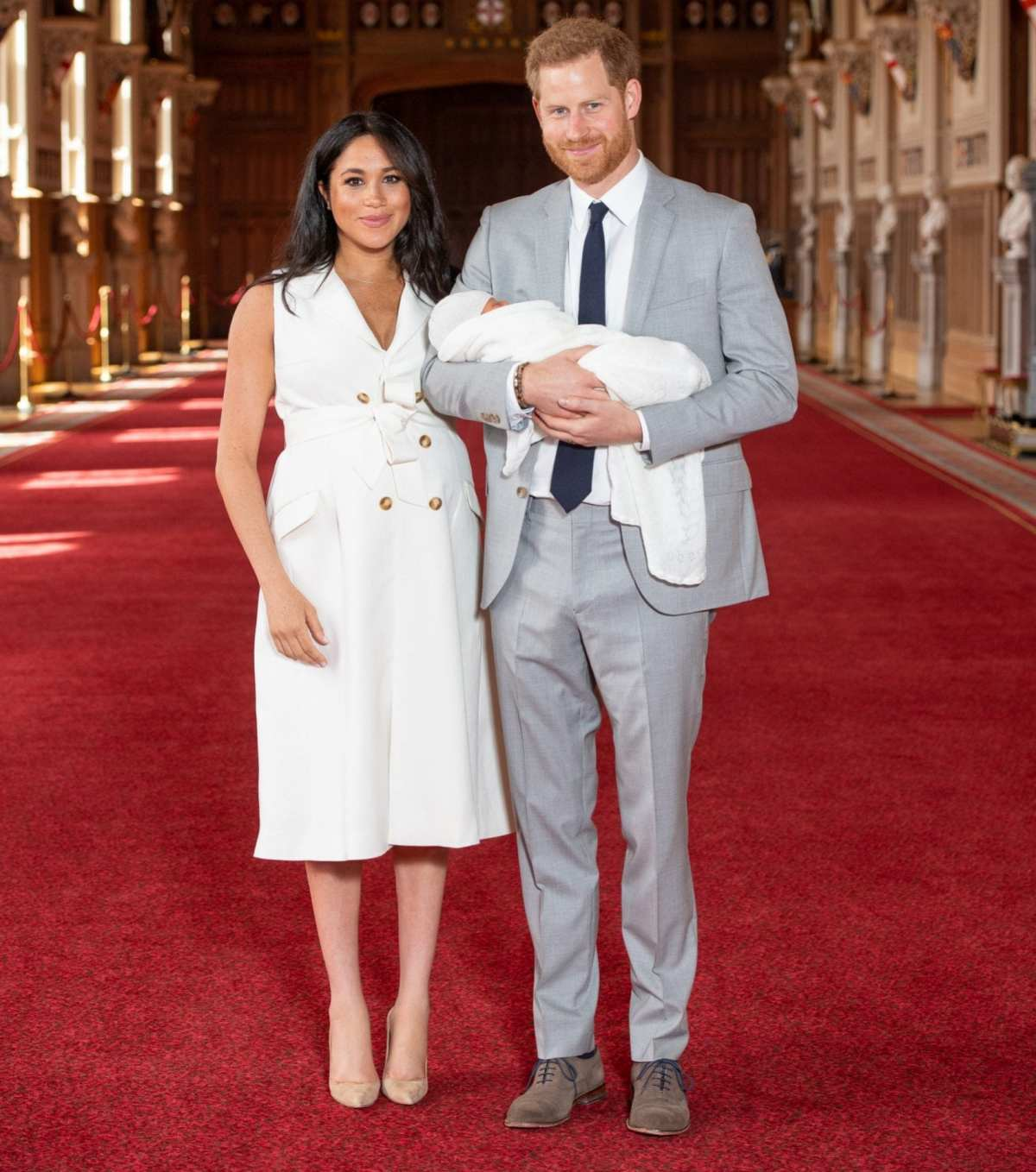 In May 2019, Harry and Meghan introduced their newborn son