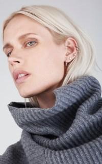 The rise of multiple ear piercings