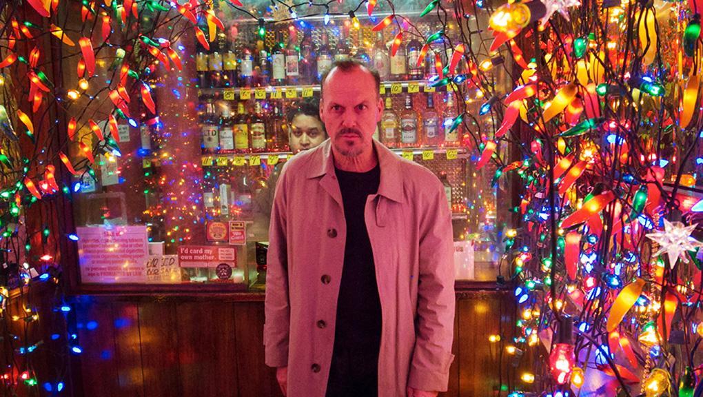 Michael Keaton lights Birdman