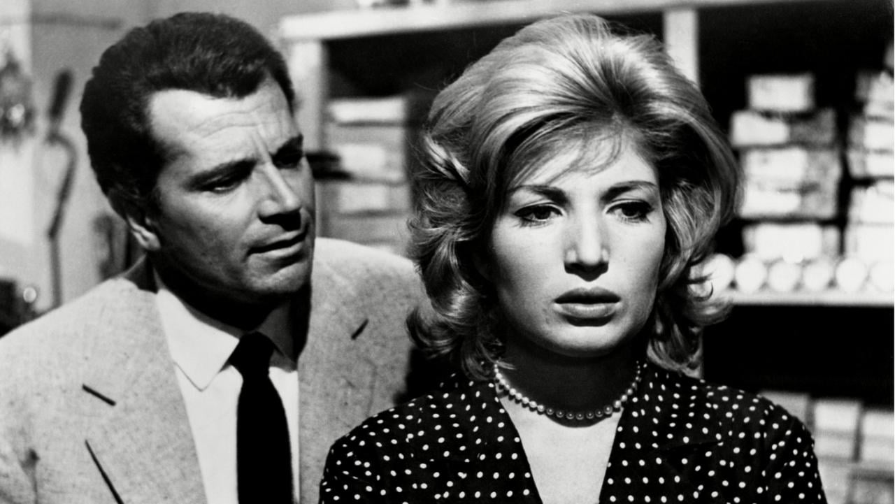 No Merchandising. Editorial Use Only. No Book Cover Usage  Mandatory Credit: Photo by Everett/REX Shutterstock (2060309a)  LAVVENTURA, Gabriele Ferzetti, Monica Vitti, 1960  LAVVENTURA, Gabriele Ferzetti, Monica Vitti, 1960