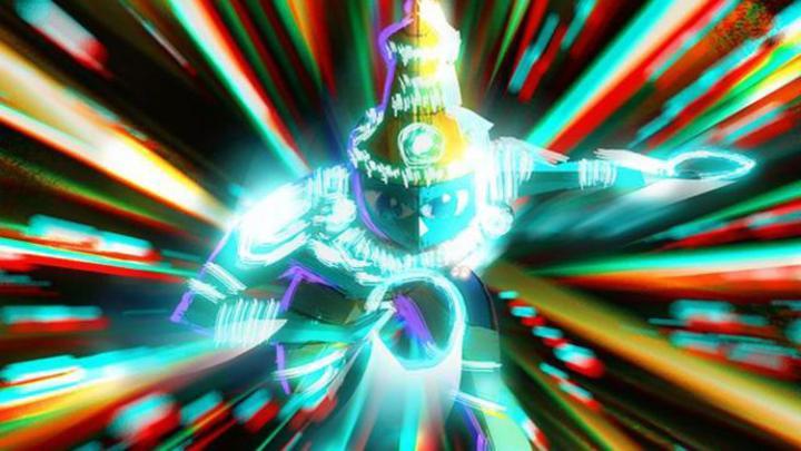 Vishnu, as imagined in Sanjay's Super Team