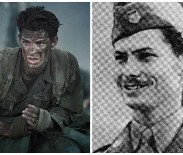 Andrew Garfield In Hacksaw Ridge Desmond T Doss Who Was Awarded The Us Medal
