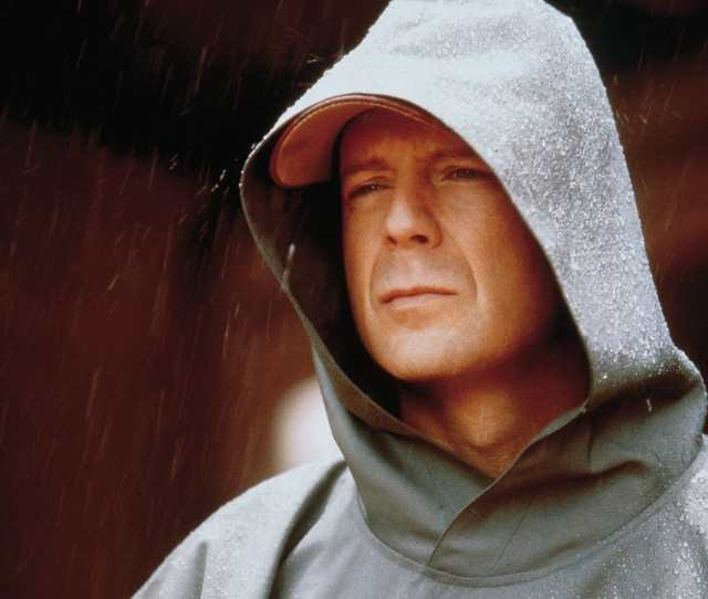 Not All Heroes Wear Capes Bruce Willis In Unbreakable