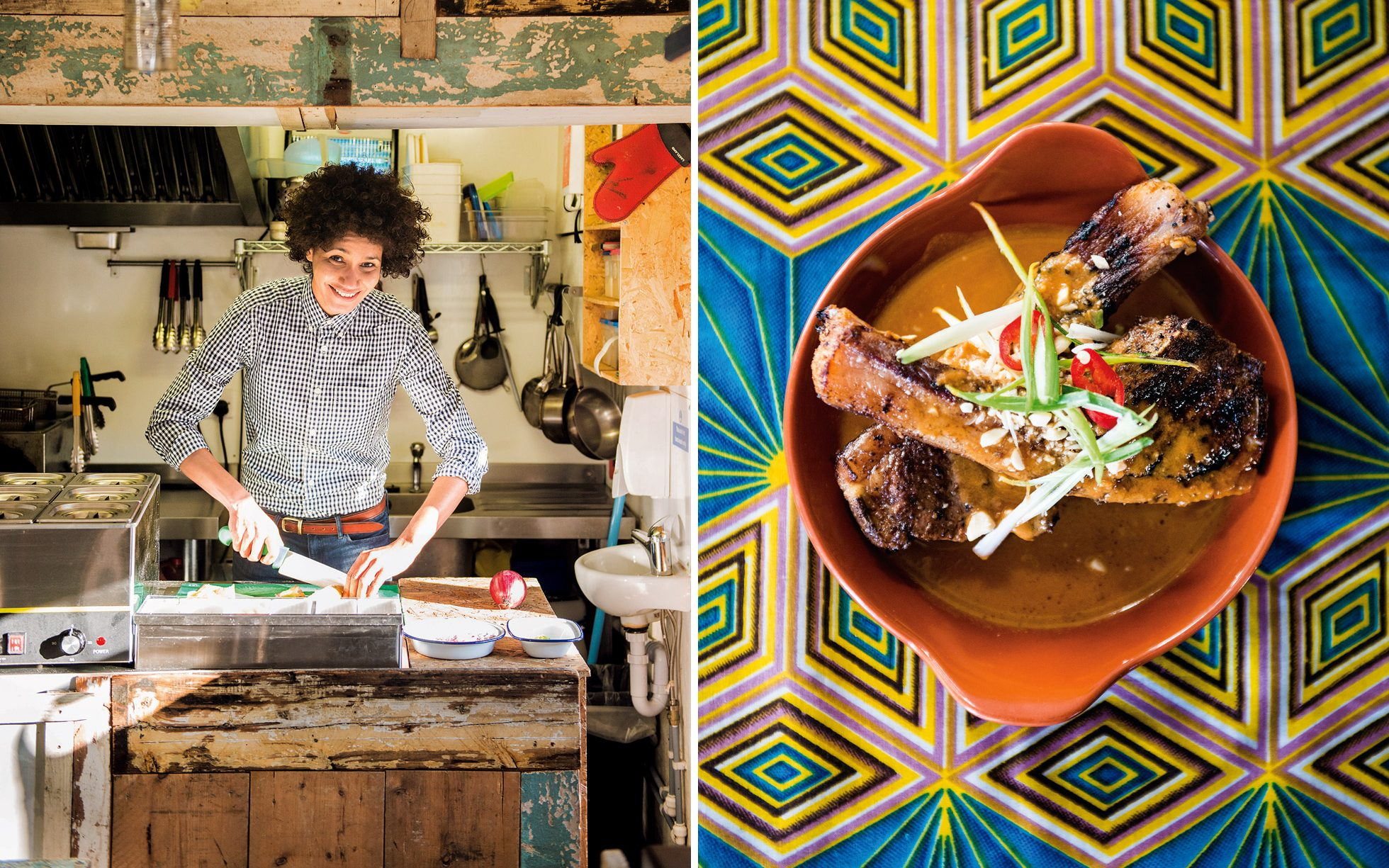 Zoes Ghana Kitchen the chef bringing West African food