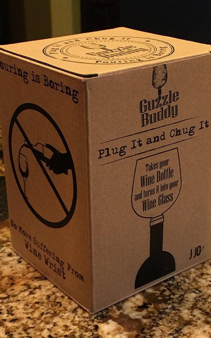 """The packaging suggests you """"plug it and chug it"""""""