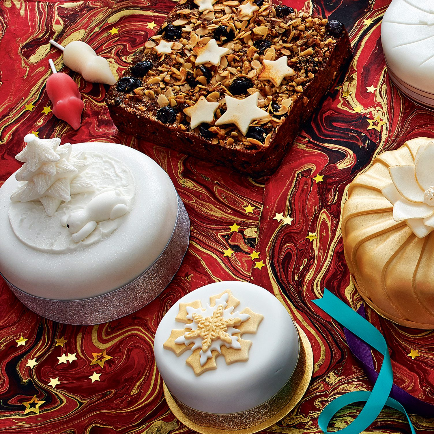 The best Christmas cakes Angela Hartnett judges budget vs luxury