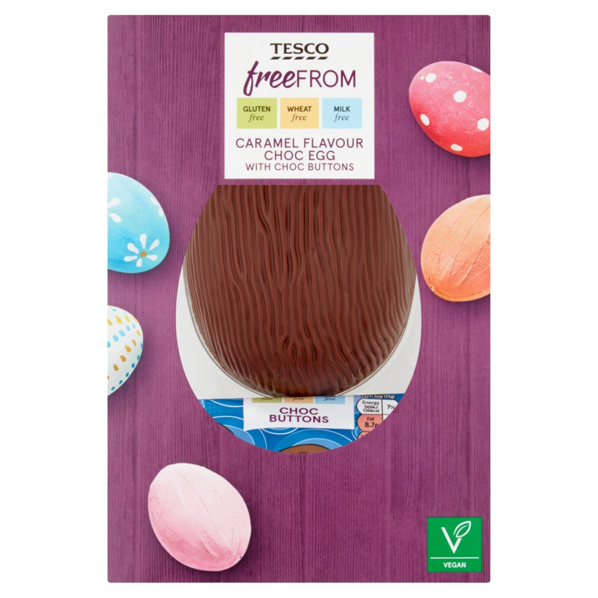 Tesco free from caramel easter egg