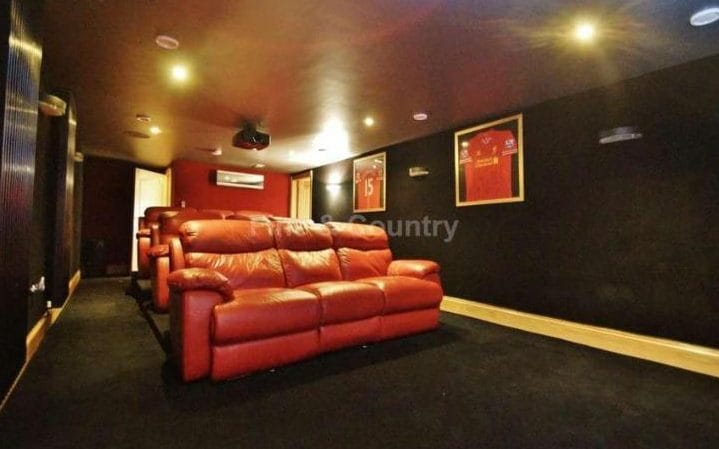 Raheem Sterling home cinema