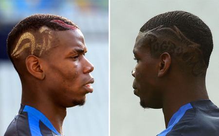 Pogba Pogboom rooster hairstyle | Paul Pogba: Every mad hairstyle ...
