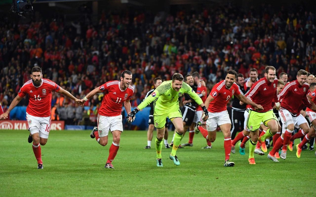 Wales Vs Belgium Euro 2016 Quarter Final Live Heroic Wales Come From Behind To March Into
