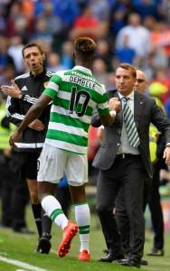 Dembele Rodgers Celtic Man City