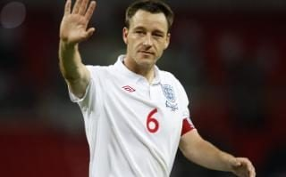 John Terry playing for England