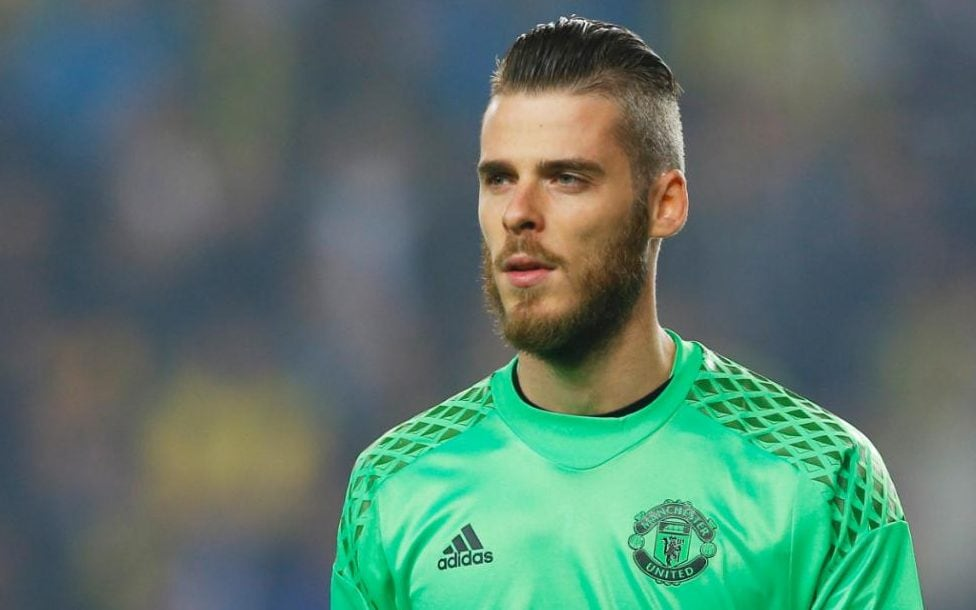 Manchester United Goalkeeper David De Gea Happy At Old