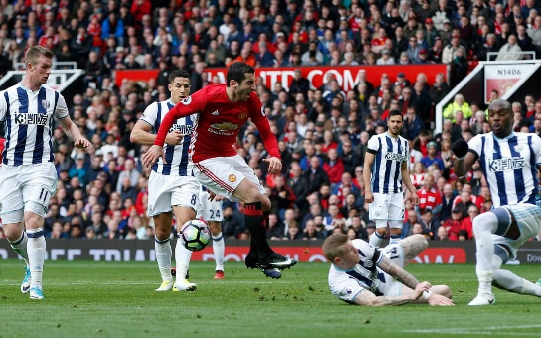 Manchester United 0 West Brom 0 Hosts Champions League