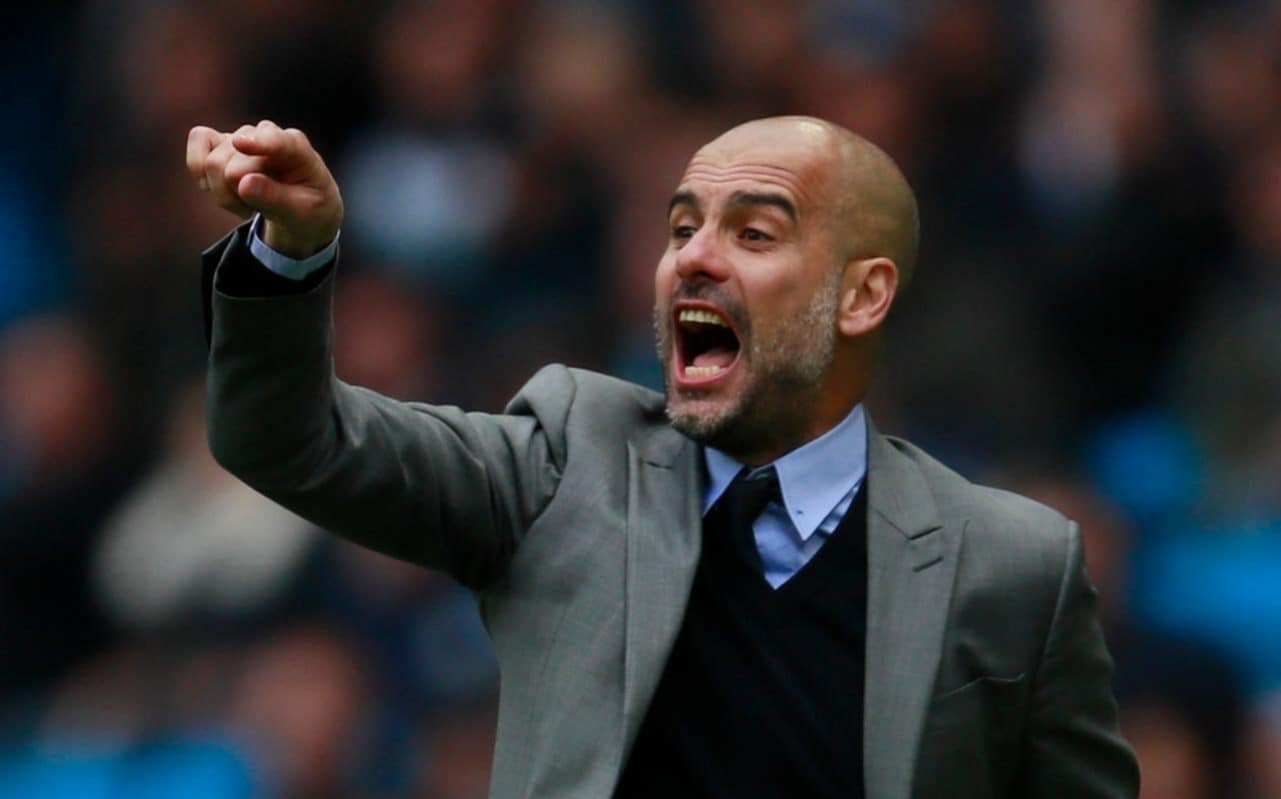Pep Guardiola Manchester Citys youngsters will not play