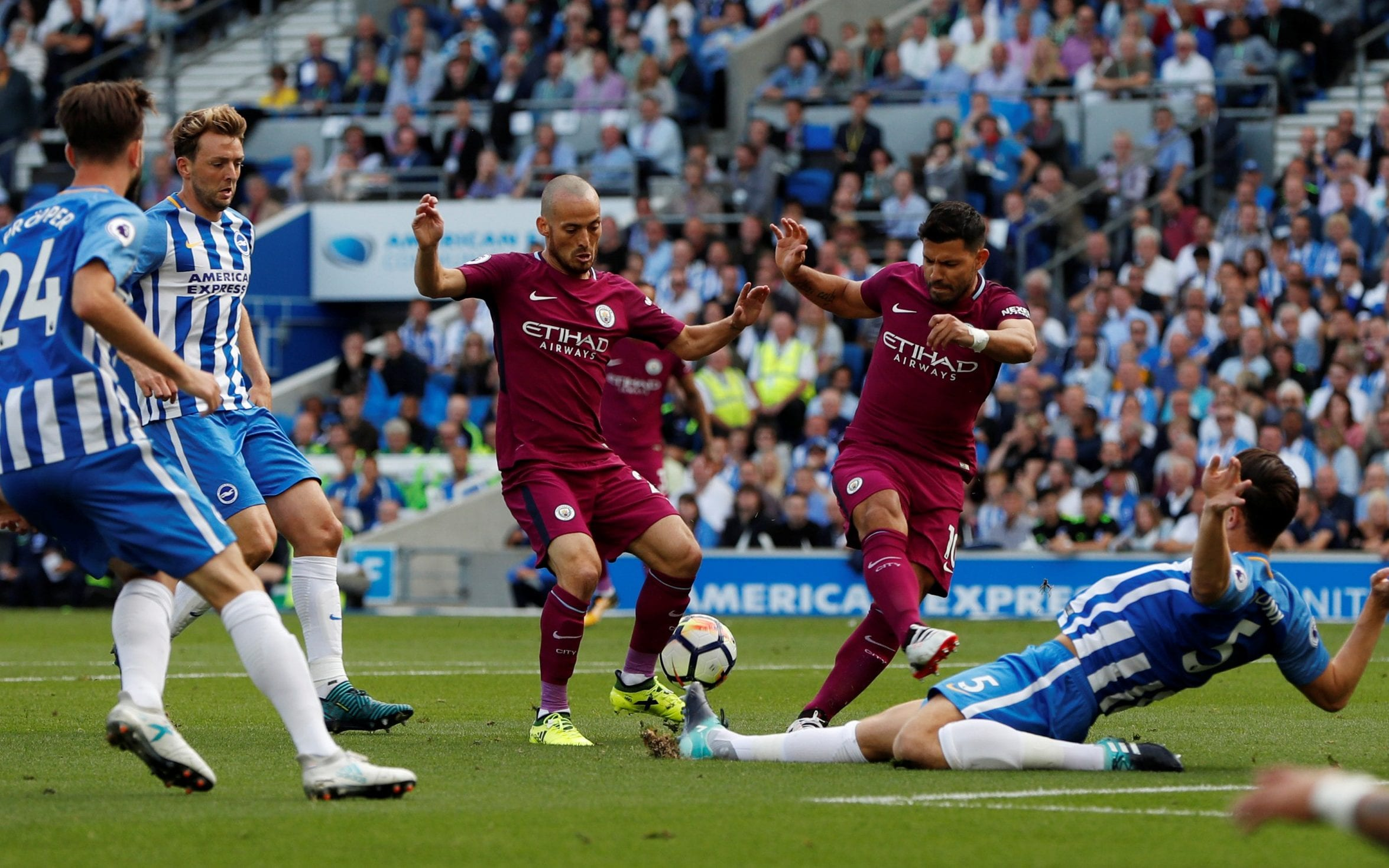 Brighton 0 Manchester City 2 Pep Guardiola S Side Too