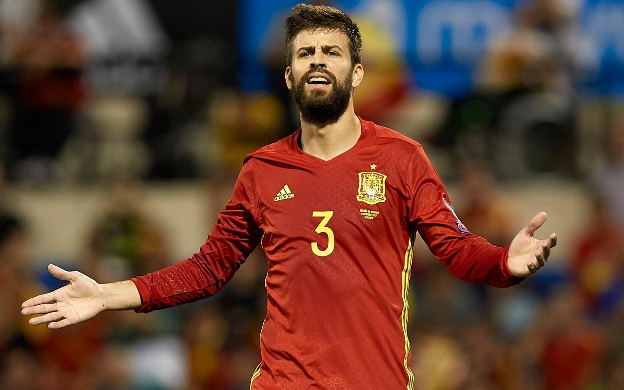 Gerard Pique booed by Spain fans during win over Albania