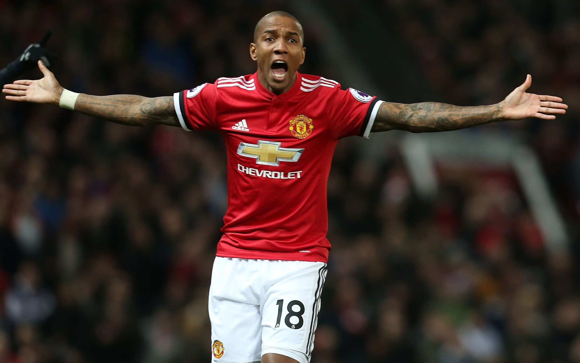 Ashley Young Suspended For Three Games Following Off The
