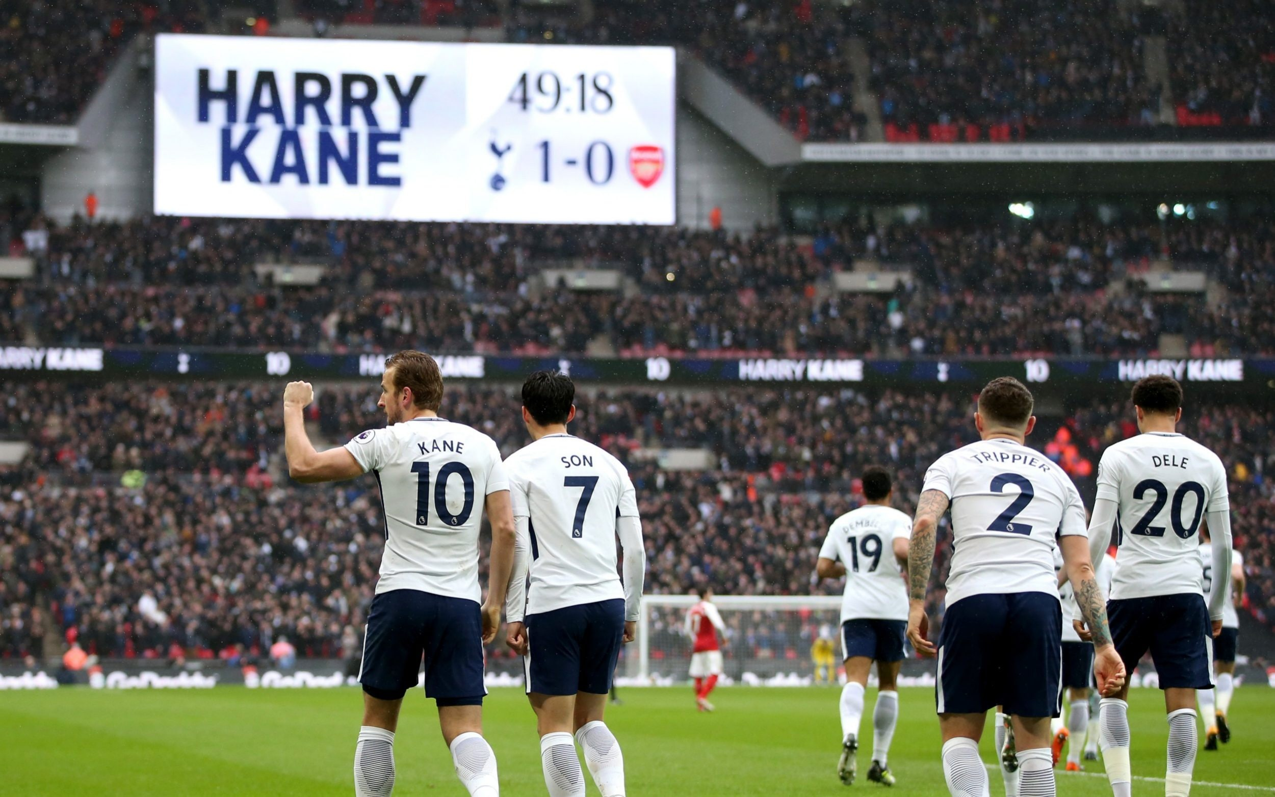 Tottenham 1 Arsenal 0 Harry Kane Goal Confirms Power
