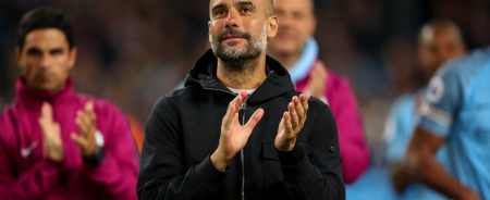 Image result for Pep Guardiola signs contract extension with Man City