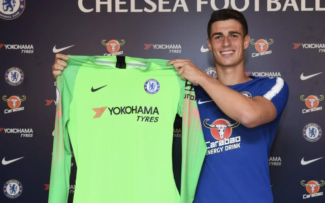 Chelsea confirm signing Kepa Arrizabalaga on seven-year contract for £71.6m