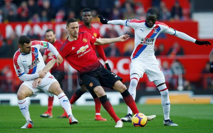 Image result for manchester united vs crystal palace