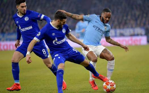 Schalke vs Man City, Champions League last-16, first leg ...