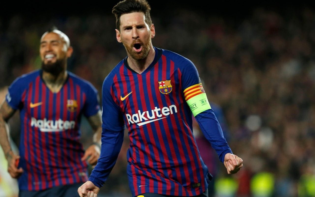 Lionel Messi orchestrates thrashing of Lyon as Barcelona storm into Champions league quarterfinals