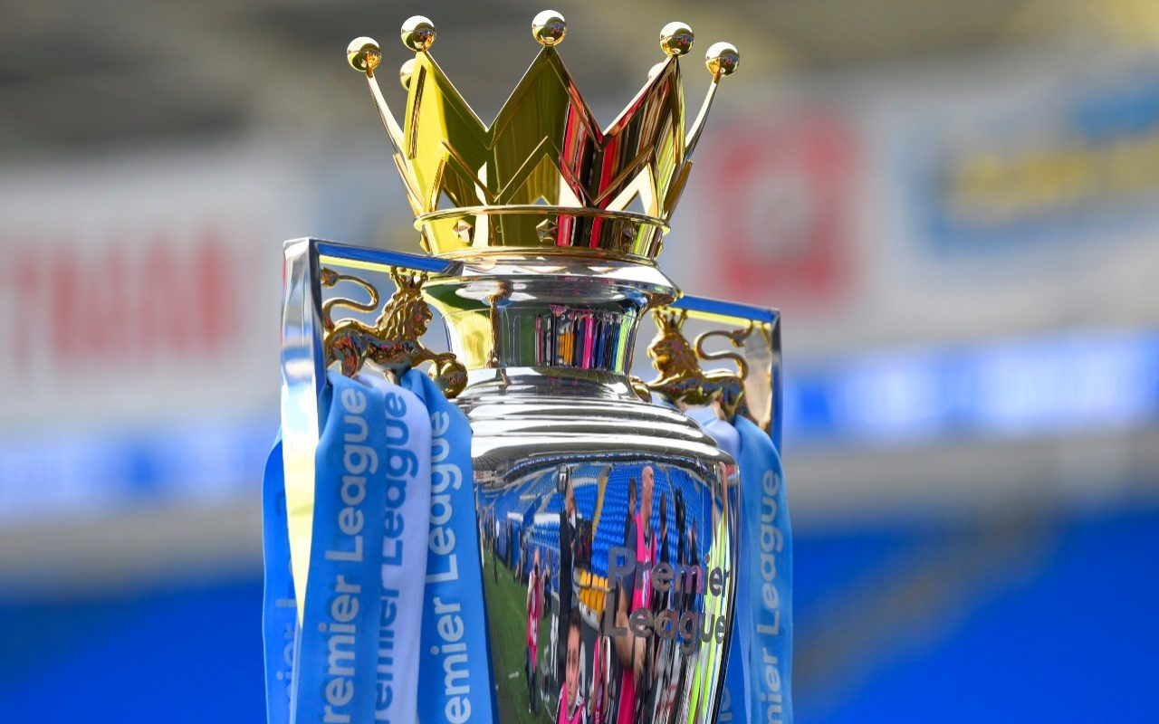 Two Premier League trophies will be on standby as title