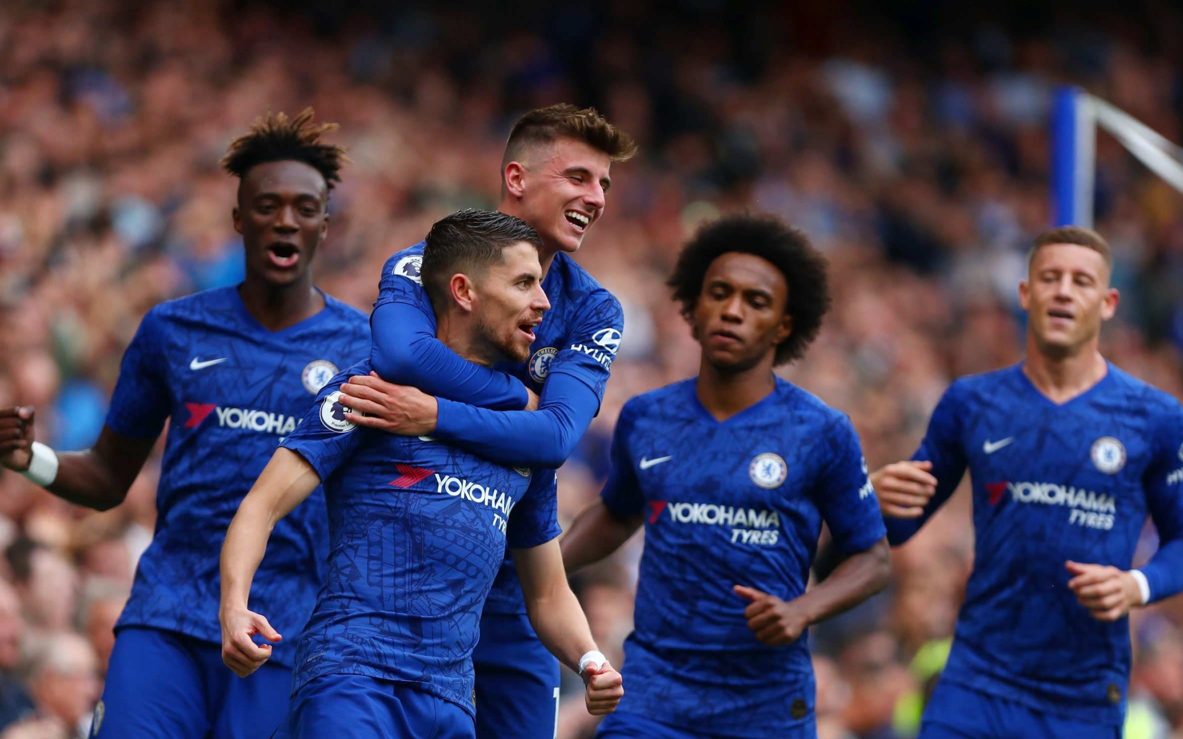 Chelsea Savouring A Full Scale Love In With Jorginho