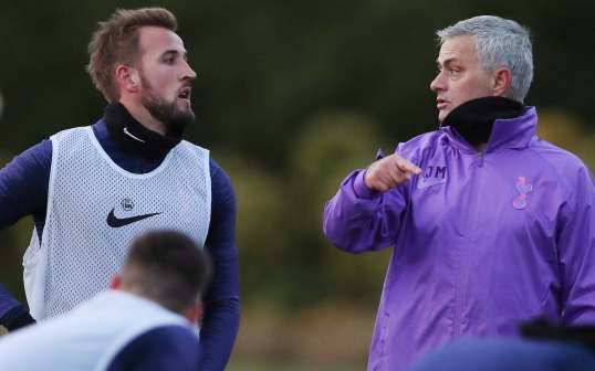 Jose Mourinho insists Harry Kane is key to winning silverware as Portuguese  is unveiled as Spurs' new head coach